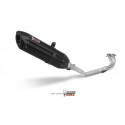 Ligne complète Suono acier noir/carbone cap Yamaha T-MAX 500